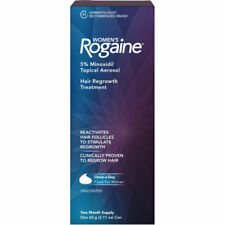 Women's ROGAINE Hair Regrowth Treatment Foam Two Month Supply Exp 09/2021.