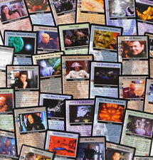 Babylon 5 CCG All Individual Single Cards - Crusade Wheel of Fire Psi-Corps Rare