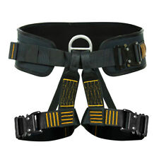 Fusion Climb Apollo Iii Tactical Padded Half Body Zipline Harness 23kN M/L Black