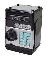 Digital Money Bank Safe Strongbox Coin box Black DIGITAL SAFE STRONGBOX BLACK
