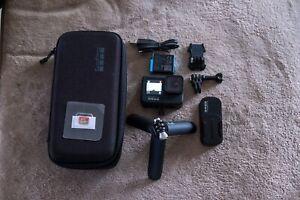 GoPro - HERO9 Black 5K and 20 MP Streaming Action Camera - Bundle