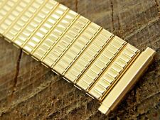 Twist-On Vintage NOS Watch Band 16mm-19mm Mens Stainless Steel Unused Expansion