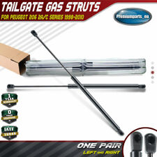 2x Tailgate Boot Gas Struts for Peugeot 206 2A 2C 1998-2010 Hatchback 8731E6