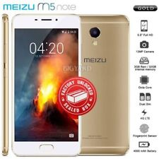Gold MEIZU Android Octa Core Mobile Phones