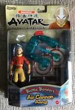 AVATAR THE LAST AIRBENDER AIR CANNON AANG ACTION FIGURE NICKELODEON MOC NEW