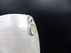 Green Prehnite, Gemstones, Sterling Silver, Necklace
