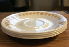 Corelle Butterfly Gold Plates Set of 4 Vintage Corelle By Corning Saucer Plate