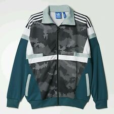 Adidas Originals Mens Brion Snow Camo Track Jacket Size 2XL (MSRP $125)