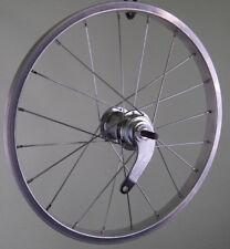 Taylor Wheels 16 Zoll Hinterrad Fahrrad Laufrad Rücktritt Aluminium Felge Silber