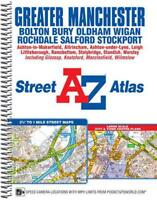 Greater Manchester Street Atlas (A-Z Street Atlas) by Geographers' A-Z Map Compa