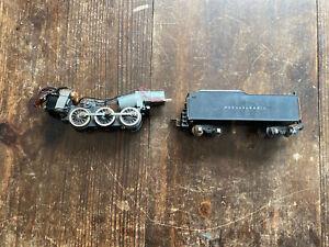 American Flyer Pennsylvania Locomotive Tender And Engine Parts Lot