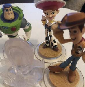 Disney Infinity Toy Story Figures Bundle Woody PS4 Xbox 360 One Nintendo Wii