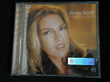 """DIANA KRALL"".""A NIGHT IN PARIS"" SPECIAL EDIT 12 TRACK+BONUS VIDEO.065369-2"