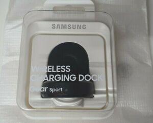 Original Samsung Gear Sport Wireless Charging Dock - Black - EP-YO600BBEG