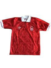Nottingham Forest Home Shirt 1990/1991 Vintage Football Retro Umbro Original VGC