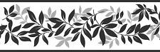 Fine Decor FDB07508S Multicolor Leaf Trail Peel & Stick Border, Multi-Color