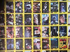 Batman - 1989 Topps Batman The Movie Uncut Finished Sheets