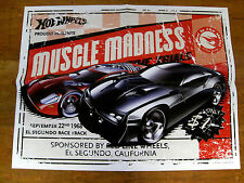 "Hot Wheels Muscle Madness/Snowboard Two-Sided Poster-21 3/4"" x 16 3/4"""