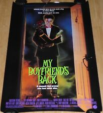 MY BOYFRIEND'S BACK 1993 ORIGINAL ROLLED DS 1 SHEET MOVIE POSTER TRACI LIND