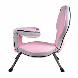 Adjustable Recliner Chair with a Pillow and a Neck Pillow, Lazy Sofa Floor Chair