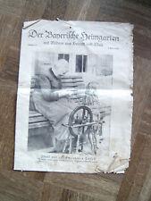 Zeitschrift Der Bayerische Heimgarten April 1930 Nummer 11 Stadler Agatharied