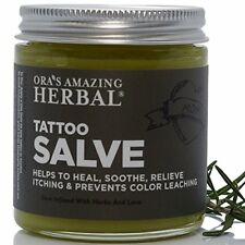 Balsamo Herbal Para Tatuajes - Cuidado De Tatuajes Recien Hechos Sana La Piel