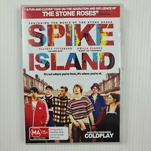 Spike Island DVD-  Emilia Clark - music of The Stone Roses - R4 - TRACKED POST