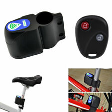 Bicycle Bike Wireless Alarm Lock Anti-Theft Security System With Remote Control