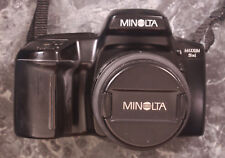 Minolta Maxxum 5xi W/ Minolta AF Power Zooms xl 28-80mm & 70-210mm Lenses & Bag