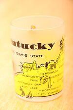 Kentucky The Blue Grass State Shot Glass Vintage