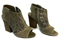 Vince Camuto Kimora Cutout Shield Sandal in Wild Mushroom Women's Size 7.5