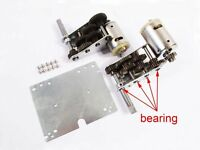 Steel 3:1 Gearbox with bearing for 1/16 Henglong Jagdpanther Panther G Kingtiger