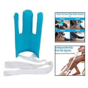 Stocking Sock Aid Kit Sock Helper for Putting On Socks Stockings Handicapped
