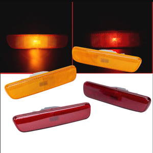 4x Front Rear Side Marker Bumper Lamp Corner Light For Lexus RX300 1999-2003