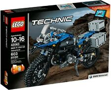 LEGO Technic 42063BMW R1200GS Adventure Motorcycle MISB **Retired**