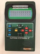 Vintage Mattel Classic Football 2 Handheld Electronic Game 2002 Tested