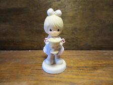 """Precious Moments 1988 Enesco Figurine """"You Are My Number One"""" 520829 Loving Cup"""