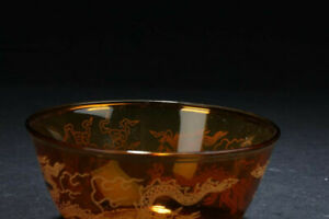 A Chinese Vintage Glass Bowl
