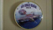 USS Ronald Reagan Clock, (Item#EJ38)