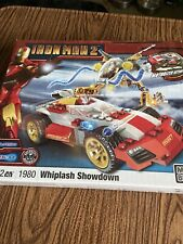 Mega Bloks Ironman 2 Whiplash Showdown Mark V 1980 172 Pcs Pullback power