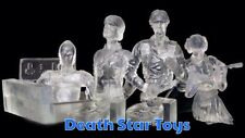 Star Wars Gentle Giant Bust Ups Clear Invisible Rebel Set Leia Luke Han C-3PO