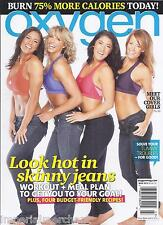 Oxygen magazine Workout and meal plan Budget friendly recipes Burn more calories