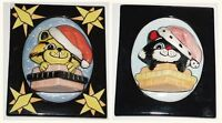 LORNA BAILEY Cat in Santa Wall Plaque 1/1 Ltd Edition Christmas Delivery 14/50