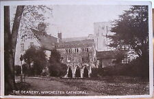 Uk Vintage Postcard The Deanery Winchester Cathedral Hampshire England Ymca Ser
