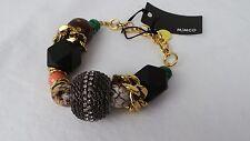 MIMCO Jewellery- Mineralistic Beaded Wrist/ Bracelet BNWT- Green- rrp$129