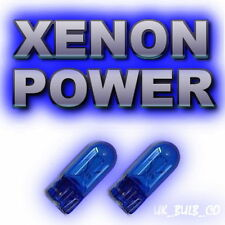 501 XENON sidelight bulbs VAUXHALL/OPEL VECTRA ZAFIRA