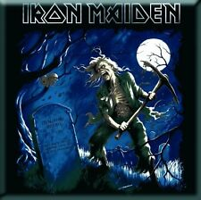 "IRON MAIDEN Benjamin Breeg fridge magnet 3"" square metal free UK P&P gift"