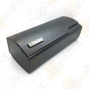 Dita Sunglasses Eyeglasses Optical Hard Leather Case with Cleaning Cloth & Box