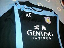 Macron Aston Villa FC training jerseys worn by players