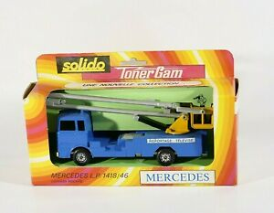 Solido N°358 Truck Mercedes LP 1418/46 Nacelle Reportage Television 1/50